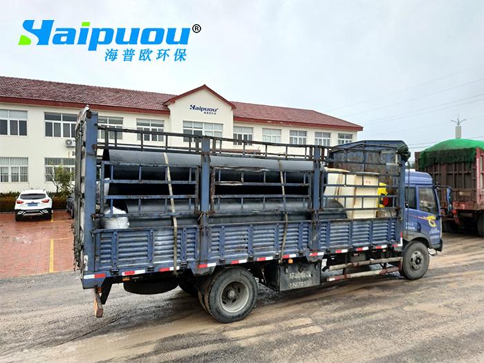 临沂养老院生活污水处理设备发货